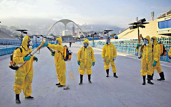 遊客湧巴西嘉年華奧運 寨卡毒恐播全球
