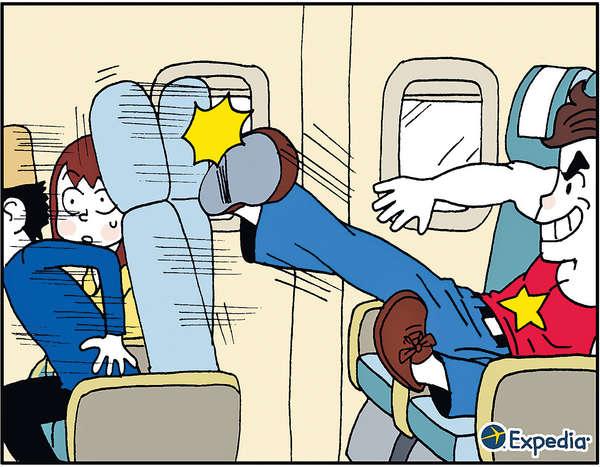 機上踢凳被列最「乞人憎」行為