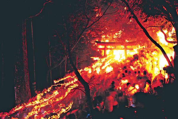日本火祭 新年除噩運