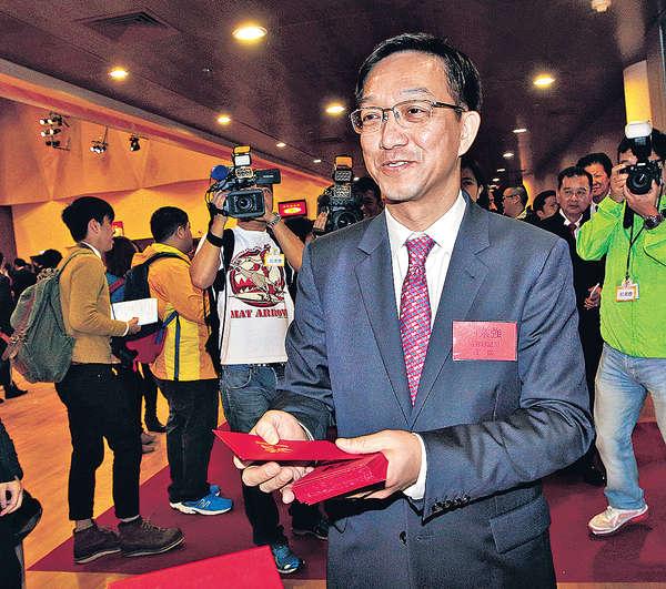 劉業強:冀各級議會有鄉事代表