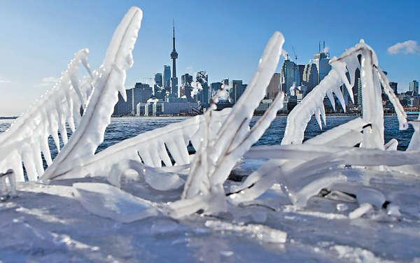 北極寒流襲美加 多倫多-25℃史上最凍