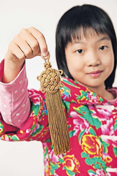 學打中國結 傳統藝術藏故事