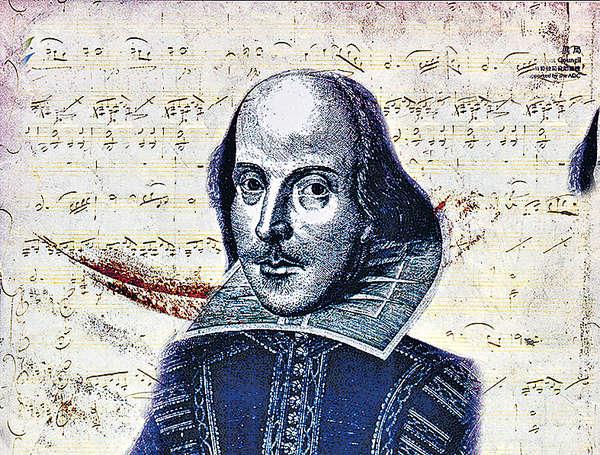 為莎士比亞獻唱