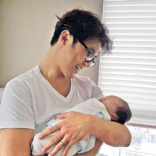 安在旭榮升爸爸
