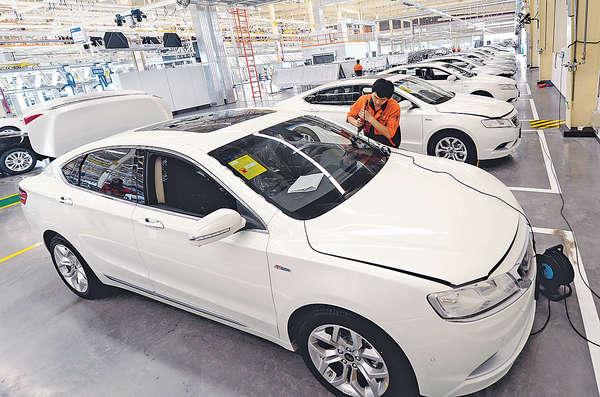 政策料助新能源車入場 吉利汽車維持增長目標