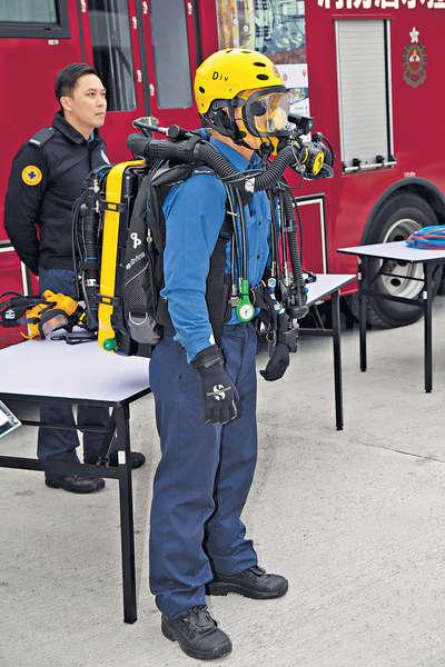 消防購新裝備 應付鐵路事故