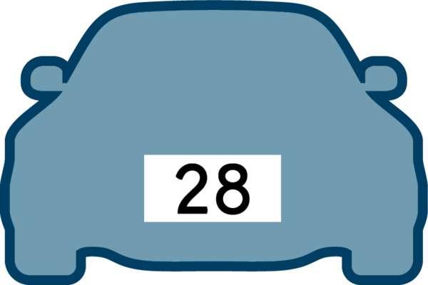「28」車牌$1810萬成交 歷來最貴