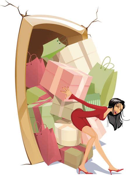 家有購物狂 親人變擠迫戶