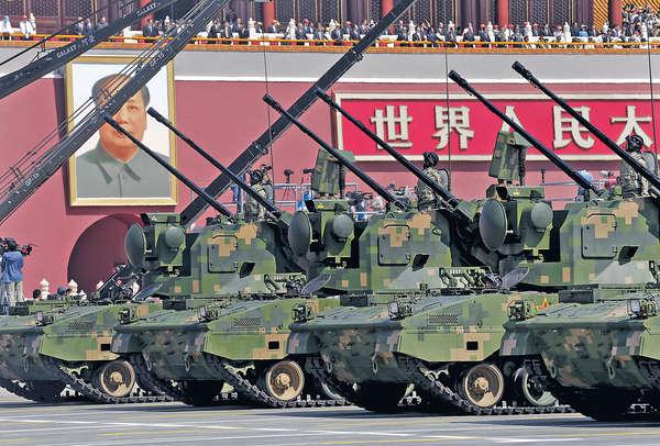 中國武器出口 5年急升9成