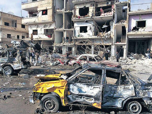 IS連環恐襲 敘平民140死