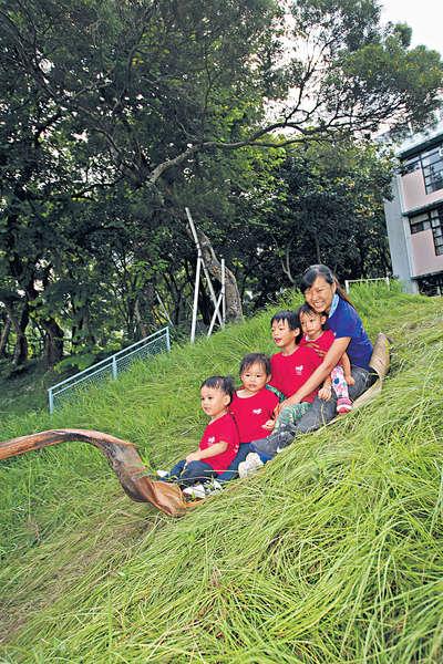 沒有校舍的幼稚園 自然環境學解難