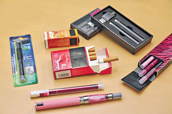 電子煙含多款化學物 部分可致癌