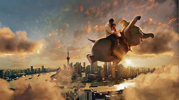 滬迪士尼宣傳片 小飛象遊浦江