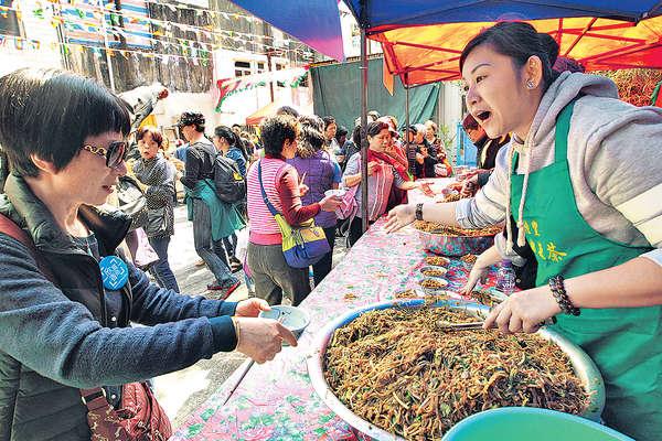 長洲菜茶會 延續鄉土情