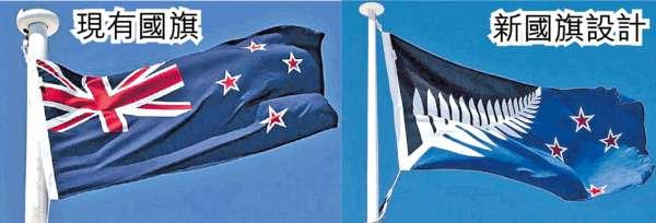 改國旗設計 新西蘭終極公投
