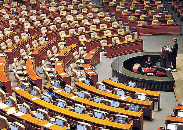 拉布192小時 韓議員創紀錄