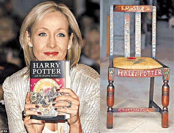 《哈利波特》專座拍賣 料78萬成交