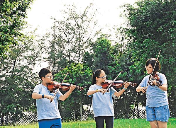 歐洲街頭拉琴 小學員體驗驚與喜