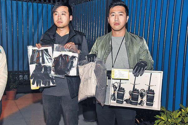 涉天水圍多案 4人被控 扮學生爆竊手機藏505公屋資料