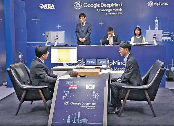 Google人工智能 再挫棋王