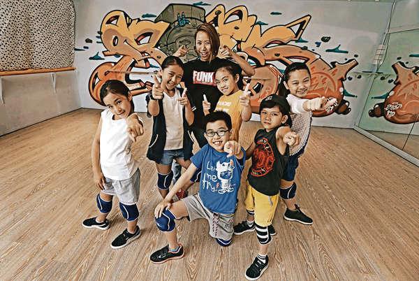 兒童街舞 較量中增自信