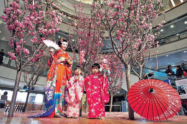 日本櫻花祭 登陸香港