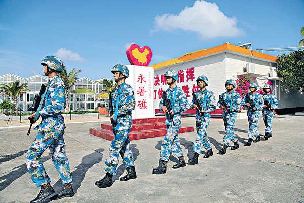 美:中國南海設施 具軍事部署能力