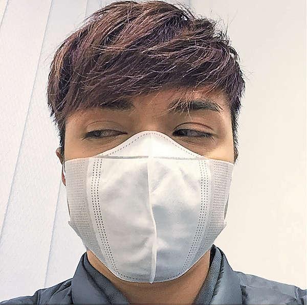 張敬軒 患流感要攝太歲