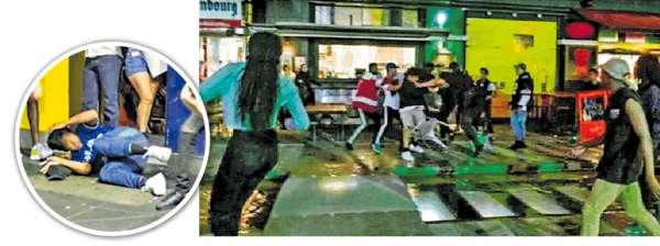 墨爾本街頭騷亂 20人搶劫華裔學生