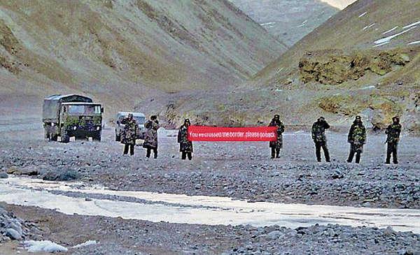 中印邊境紛爭 兩軍對峙數小時