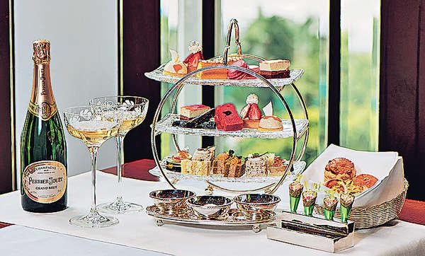 銀禧下午茶送香檳杯