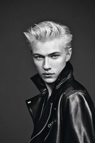 「精靈系男模」Lucky Blue 做L'Oréal Men Expert新代言人