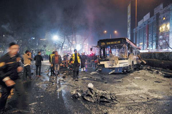 逾160死傷 土耳其首都爆恐襲