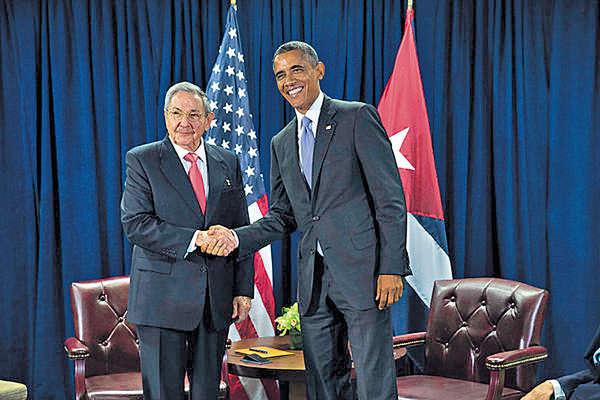 奧巴馬周日訪古巴 人權議題仍是障礙