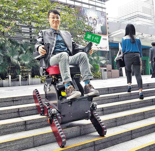 越障輪椅變陣攻歐市場