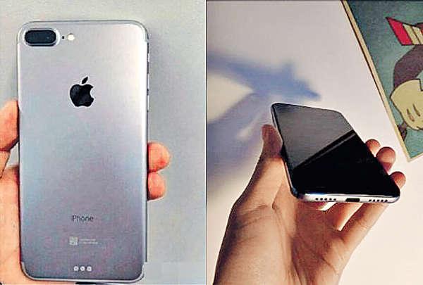 新iPhone諜照 疑有雙鏡頭