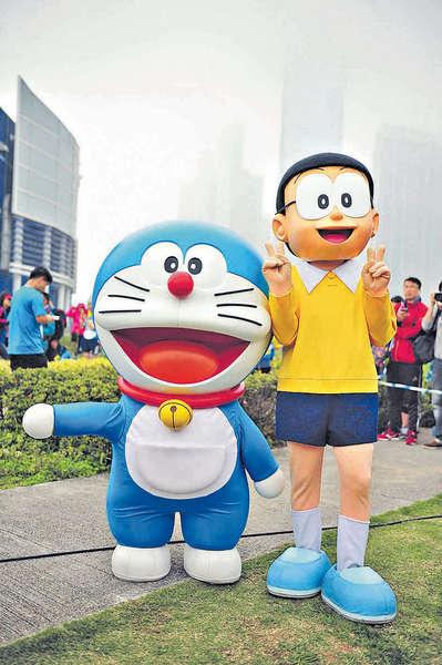 Doraemon Run賽道多誘惑 泳兒:要忍住唔影相!