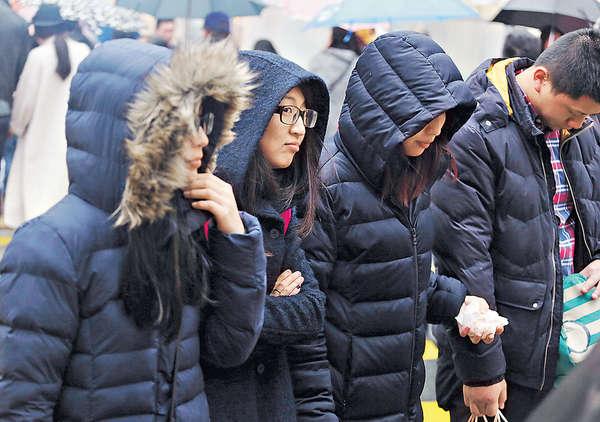 周五再降溫 最凍12℃