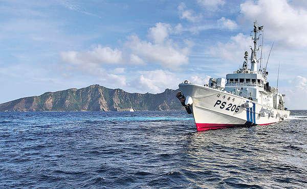 日增12艘巡邏船 配機關炮赴釣島