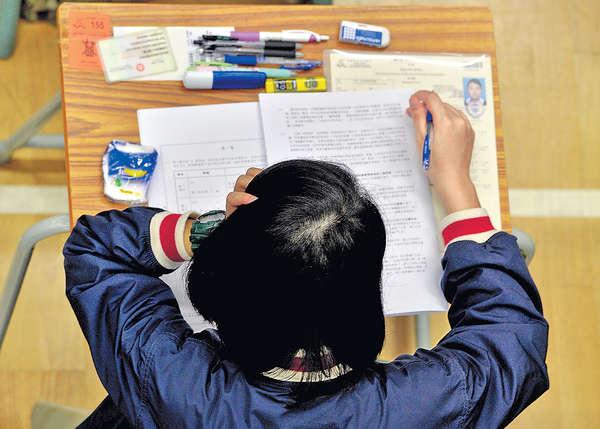 DSE中文開考 被指歷年最淺