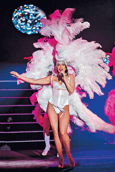 澳門率先睇《百老匯奇幻秀》 天才女歌手 歌聲撼動人心