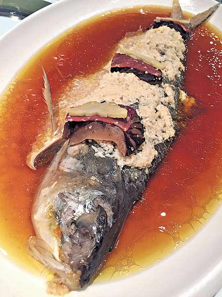 浙江軒酒糟蒸鰣魚