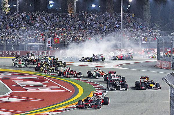 IS擬恐襲新加坡F1