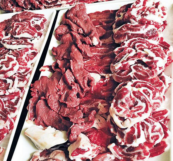 牛肉不上席