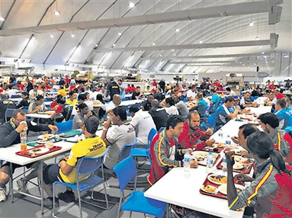 里奧遊道場:飯堂可放5架A380空巴