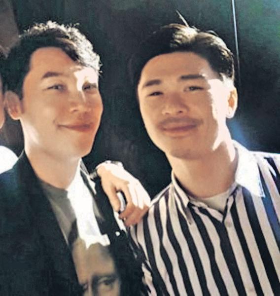 王賢誌與男友加國完婚