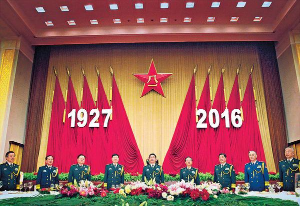 「八一建軍節」解放軍東海實兵演習