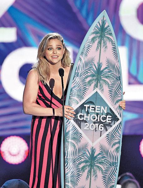 《Teen Choice頒獎禮》 嘉兒莫蕊茲獲人氣獎