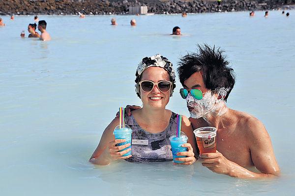 冰島浸泡 Tiffany blue溫泉