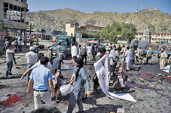 IS襲阿富汗首都80死
